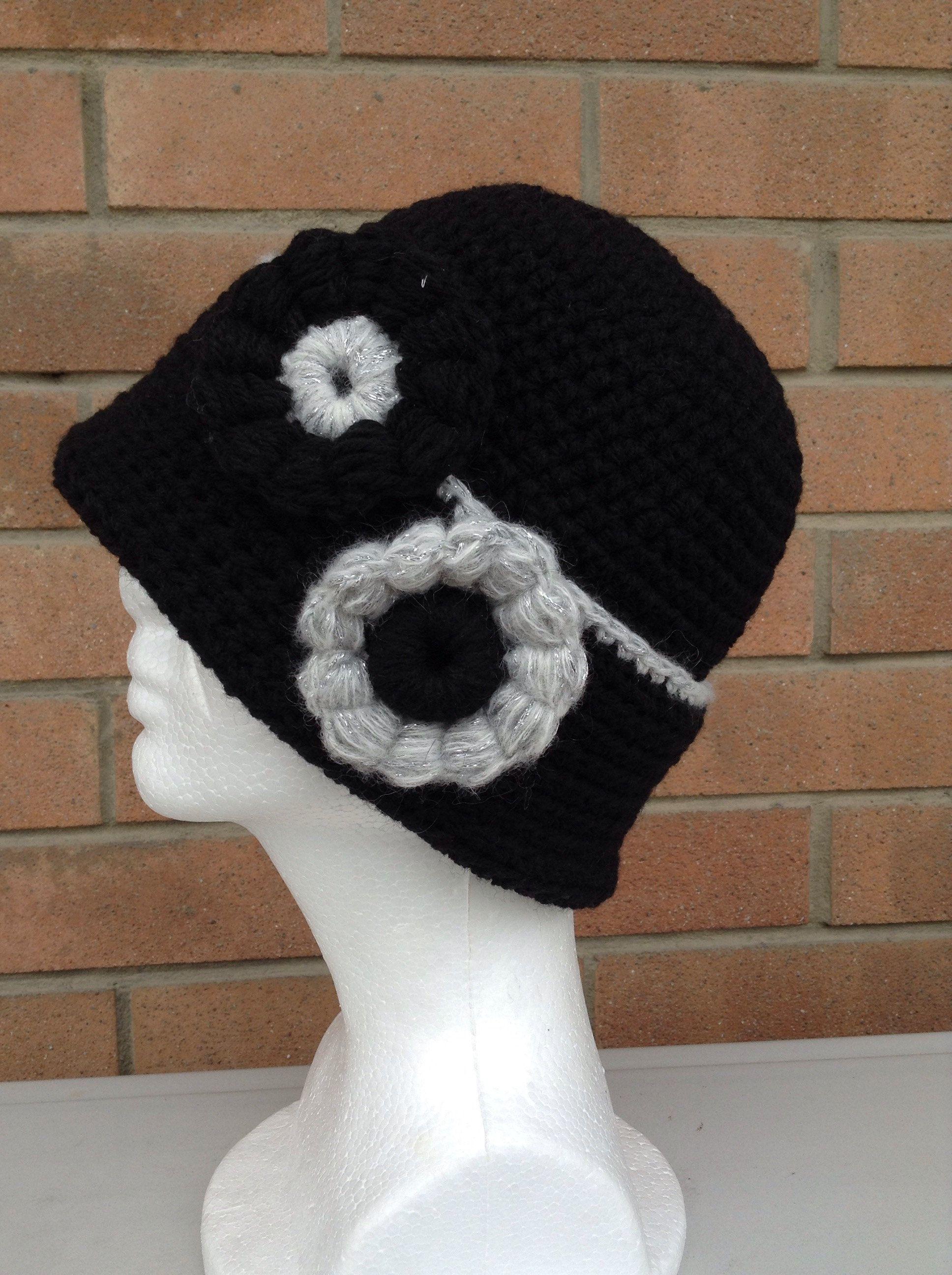 Cappello nero con fiori   Cappelli, Cappelli neri e Etsy
