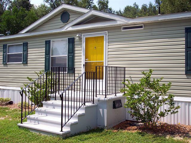 Safe Porch Example of storm shelters | Mobile home porch ...