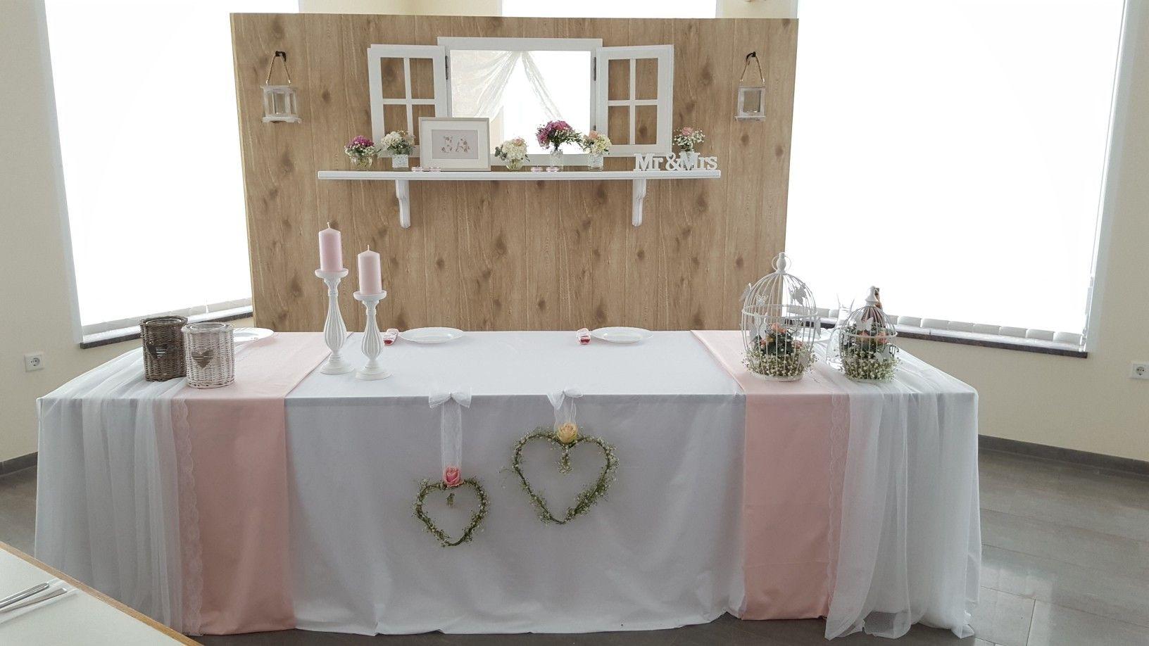 Wedding Hochzeit Thron Speisesaal Esstisch Dekoration
