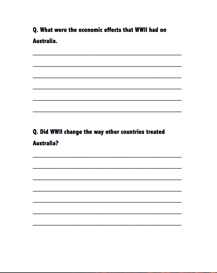 Events Following Wwii Wwii Worksheets Pinterest