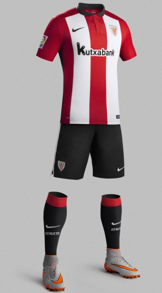 2be8a95a944 Athletic Bilbao Home Jersey 2015-16