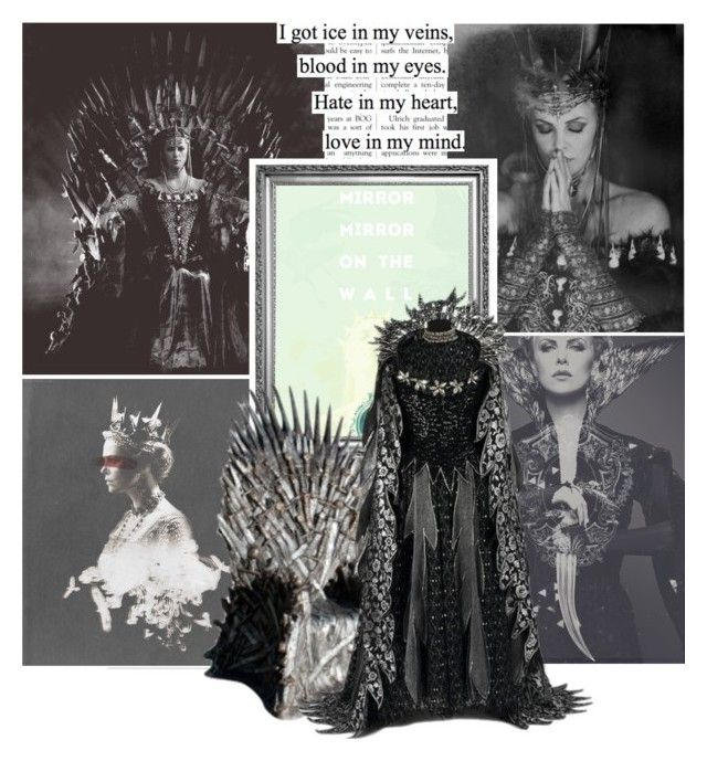 """The Evil Queen Ravenna -2-"" by greenfeels ❤ liked on Polyvore featuring art"