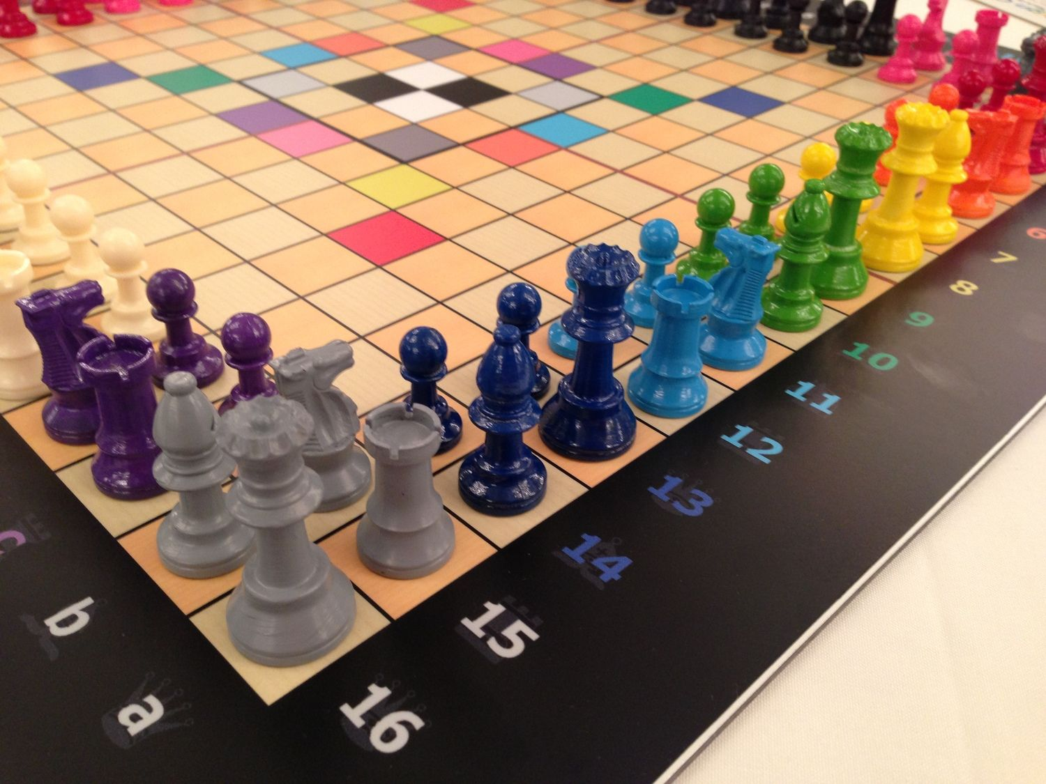 Game color squares - Sovereign Chess A Fun Tactical Spin On A Classic Occupy Squares Of Color