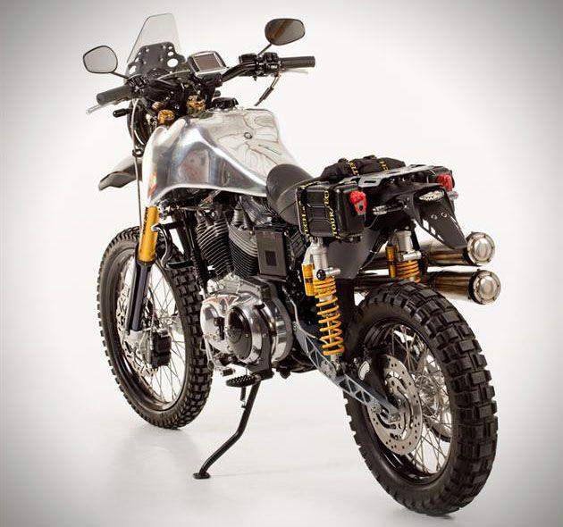 Harley Davidson Sc3 Adventure Dual Sport Motorcycle Dual Sport