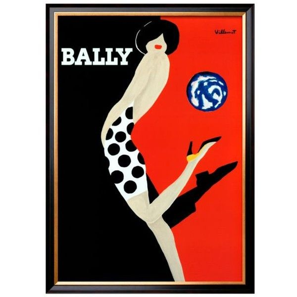 Art.Com Black Bally By Bernard Villemot Framed Art Print (£115) ❤ liked on Polyvore featuring home, home decor, wall art, black, black framed wall art, framed wall art, black home decor and black wall art