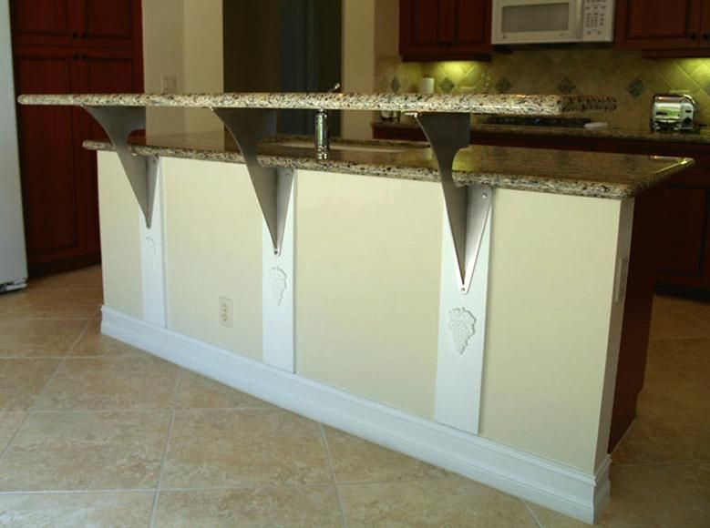 Wonderful Have You Heard Of Floating Countertop Support Brackets?