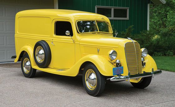 Auctions America Auburn Fall Panel Truck Ford Trucks Classic Trucks