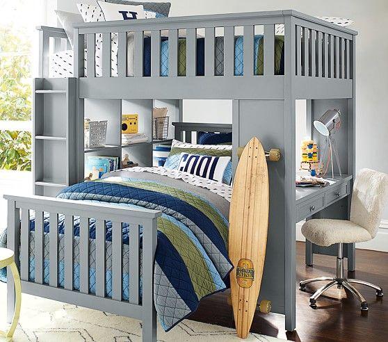 low priced f7d67 81c7b Elliott Loft System & Twin Bed Set | Nursery, Kids & Young ...