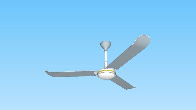 Basic Paintable Industrial Ceiling Fan 3d Warehouse