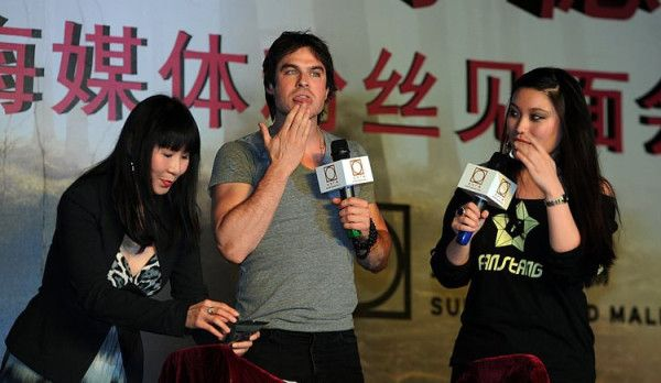 Ian Somerhalder in China