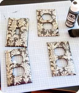 DIY CRAFT PROJECTS: Switch Plate Covers