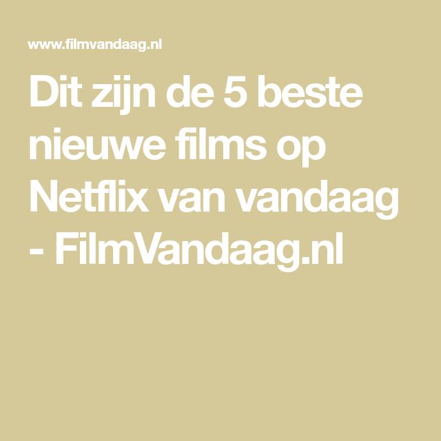 Pin Op Netflix
