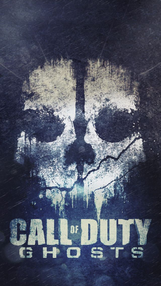 Cod ghosts skull iPhone 5s Wallpaper Just pin it