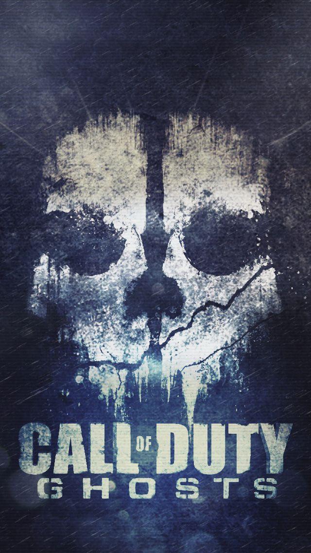 Cod Ghosts Skull IPhone 5s Wallpaper