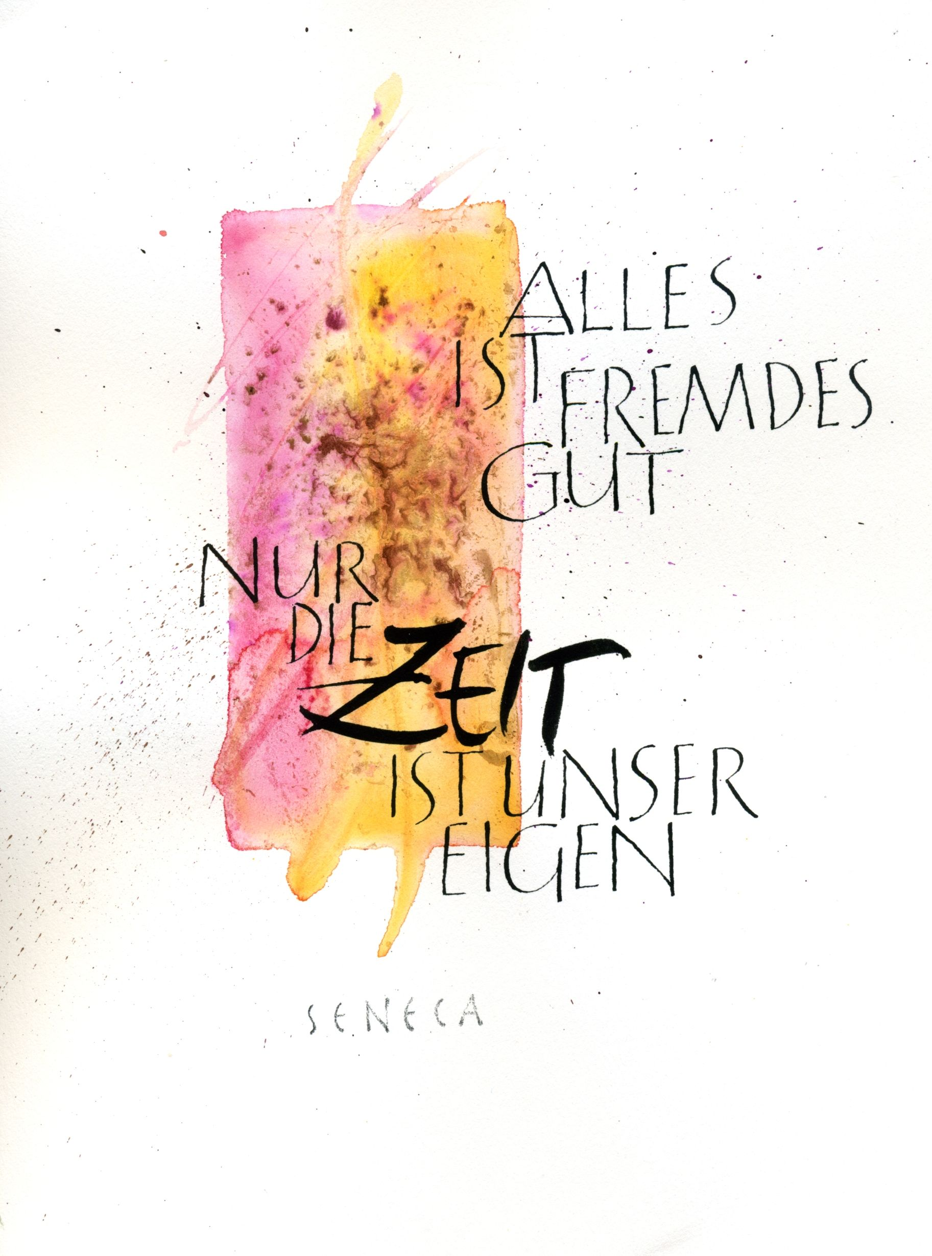 Kalligraphie Schrift Lernen From My Workshop Quotcalligraphy And Aquarell Quot Kalligrafie