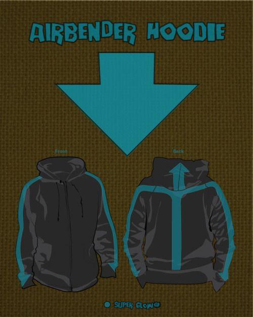 Avatar: The Last Airbender hoodie! Yes, yes, yes, PLEASE!