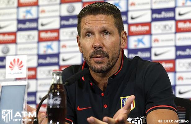 """Simeone: """"Los nombres no hacen los equipos"""""""