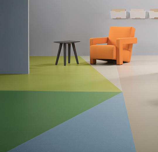 Marmoleum 'Piano' Sheet Glue Down Flooring in 2020
