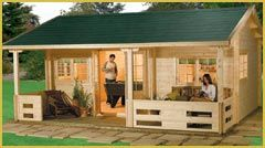 Woodlands Cabins Http Www Hgc Uk Com Summer House Garden Summer House Shed To Tiny House
