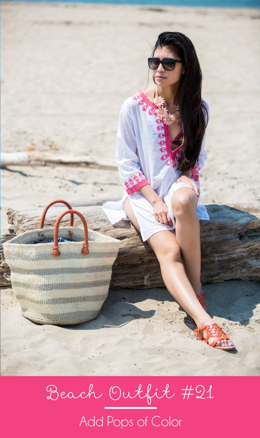 d384775553e How to Wear a Coverup - Visit Stylishlyme.com to view the other 20 summer  outfits