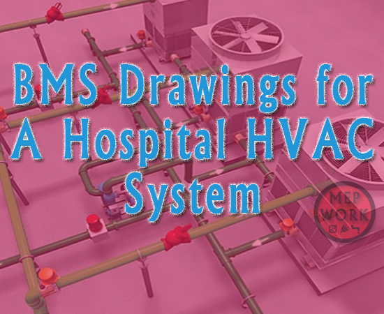 download bms drawings for a hospital hvac system autocad, conditioner