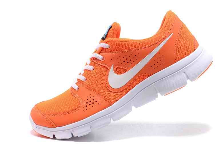 eb517240268b Nike Flex Experience Rn Mesh cloth Women Running Shoes Orange White ...