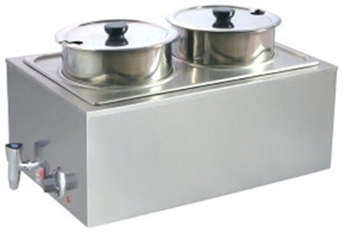 Uniworld Fw 1002dv Portable Soup Station Food Warmer Steam Table Counter Top Food Warmers Specialty Cookware Steam Tables