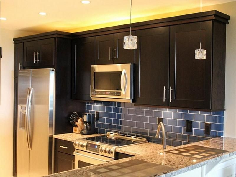 Small Kitchen Cabinet Color Schemes