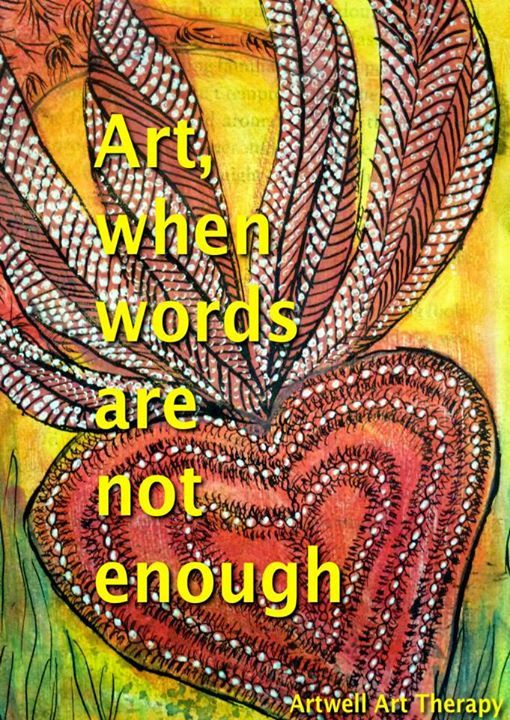 (3) Quotes n' Things Artwell Art Therapy Art therapy