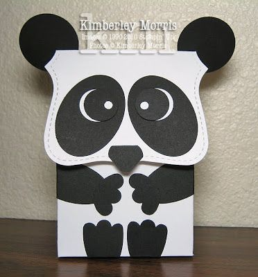 Schön Panda Card By Procrastistamper (February