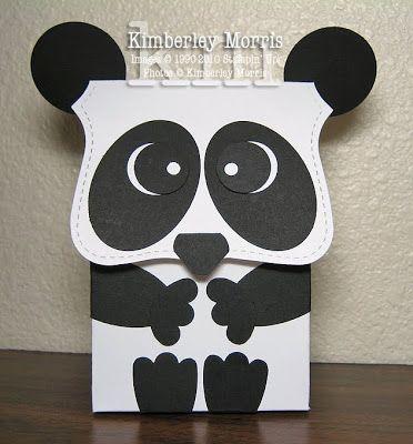 Schön Panda Card By Procrastistamper (February