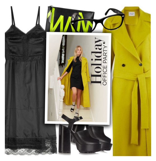 """""""Perfect Party Dress"""" by smartbuyglasses-uk ❤ liked on Polyvore featuring Marc Jacobs, Closet London, Christopher Kane, Jil Sander and Ray-Ban"""