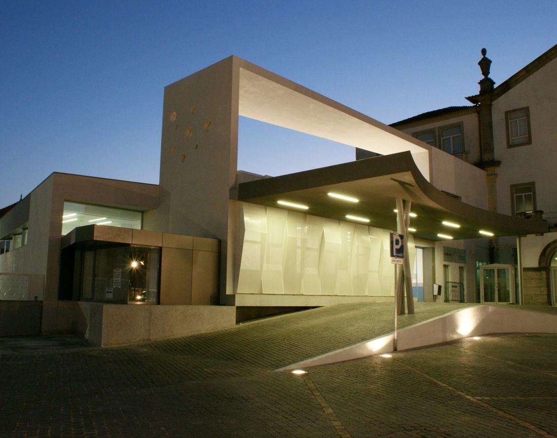 Vila De Conde Hospital Pediatric Wing In Povoa De Varzim Portugal
