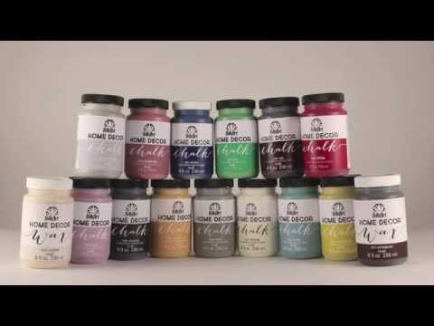 Learn How To Use Home Decor Chalk With Cathie And Steve - Youtube