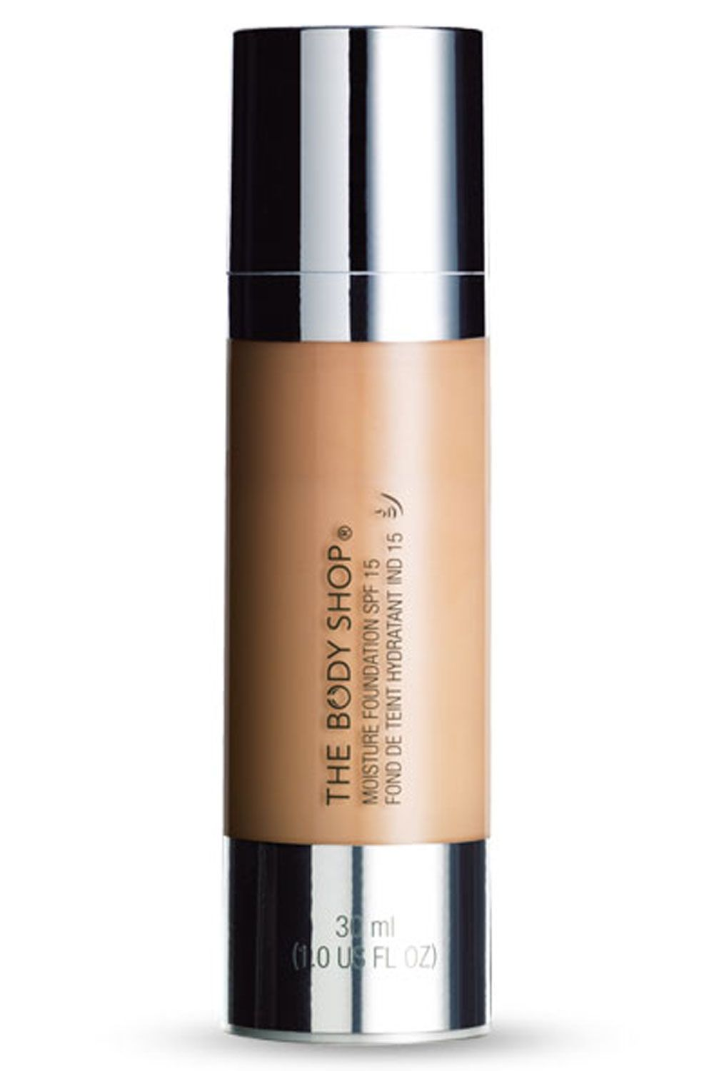 Best Foundation For Dry Skin: 10 To Help You Achieve A Flawless Finish - The Body Shop Moisture Foundations SPF 15, £13 from InStyle.com