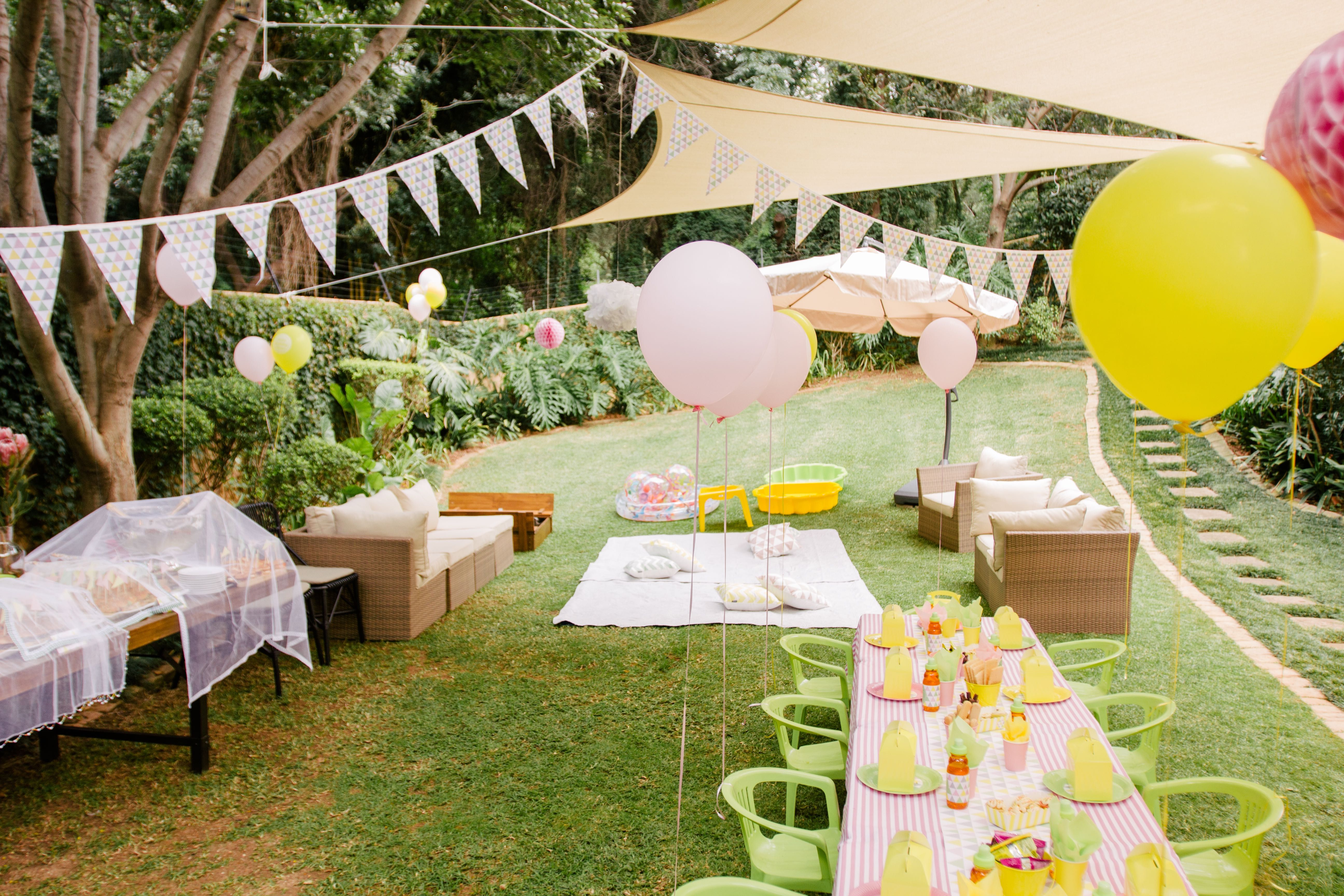Garden Party  Neves 1St Birthday Party