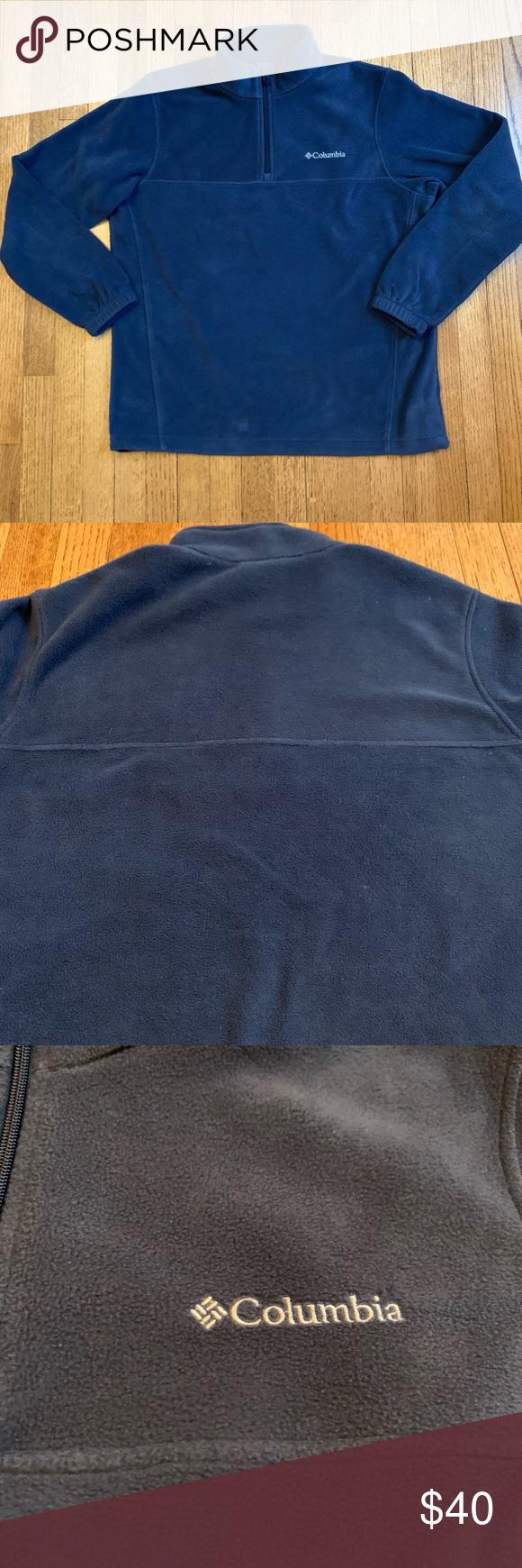 Columbia Half-zip Sweatshirt Columbia Men's Western Ridge Half-Zip . . Feel fr…