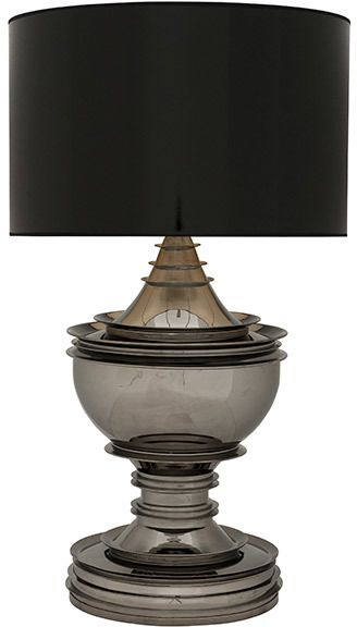 Shopstyle Uk Silver Table Lamps Lamp Black Table Lamps