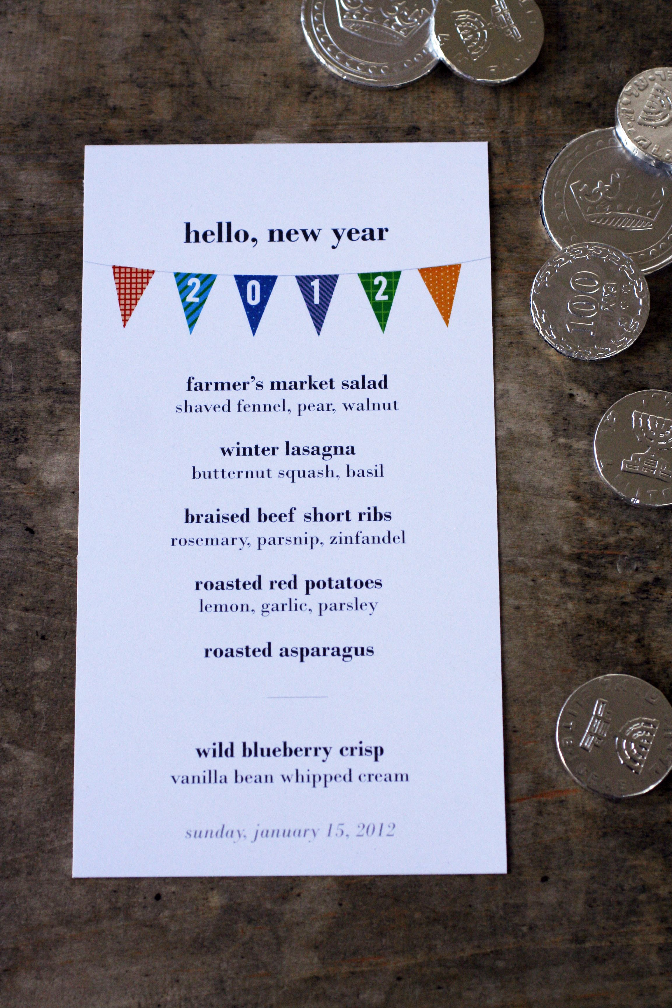 A Winter Themed Menu Perfect For A Big Dinner Party Casa Resnick