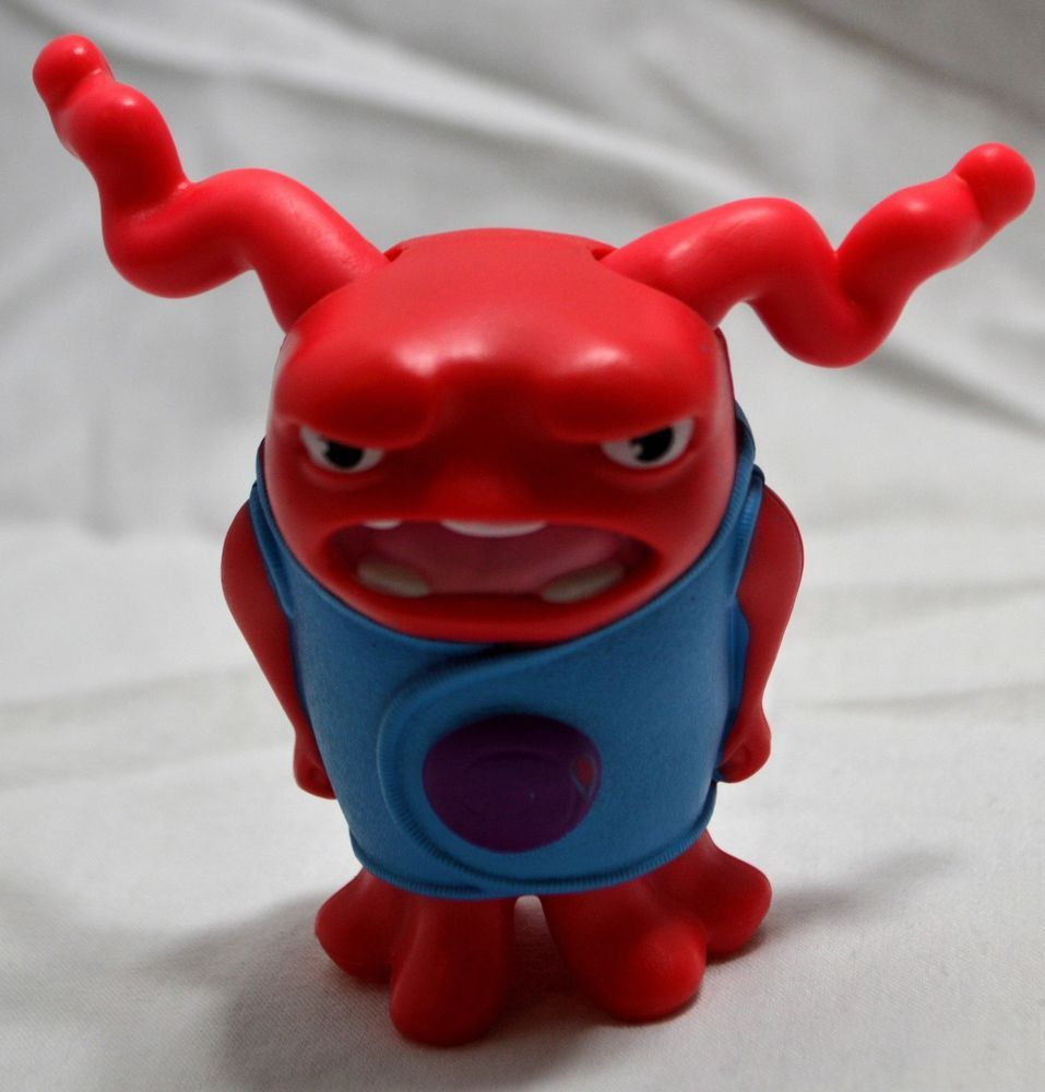 Mcdonald s toy home shaking mad angry red oh cake