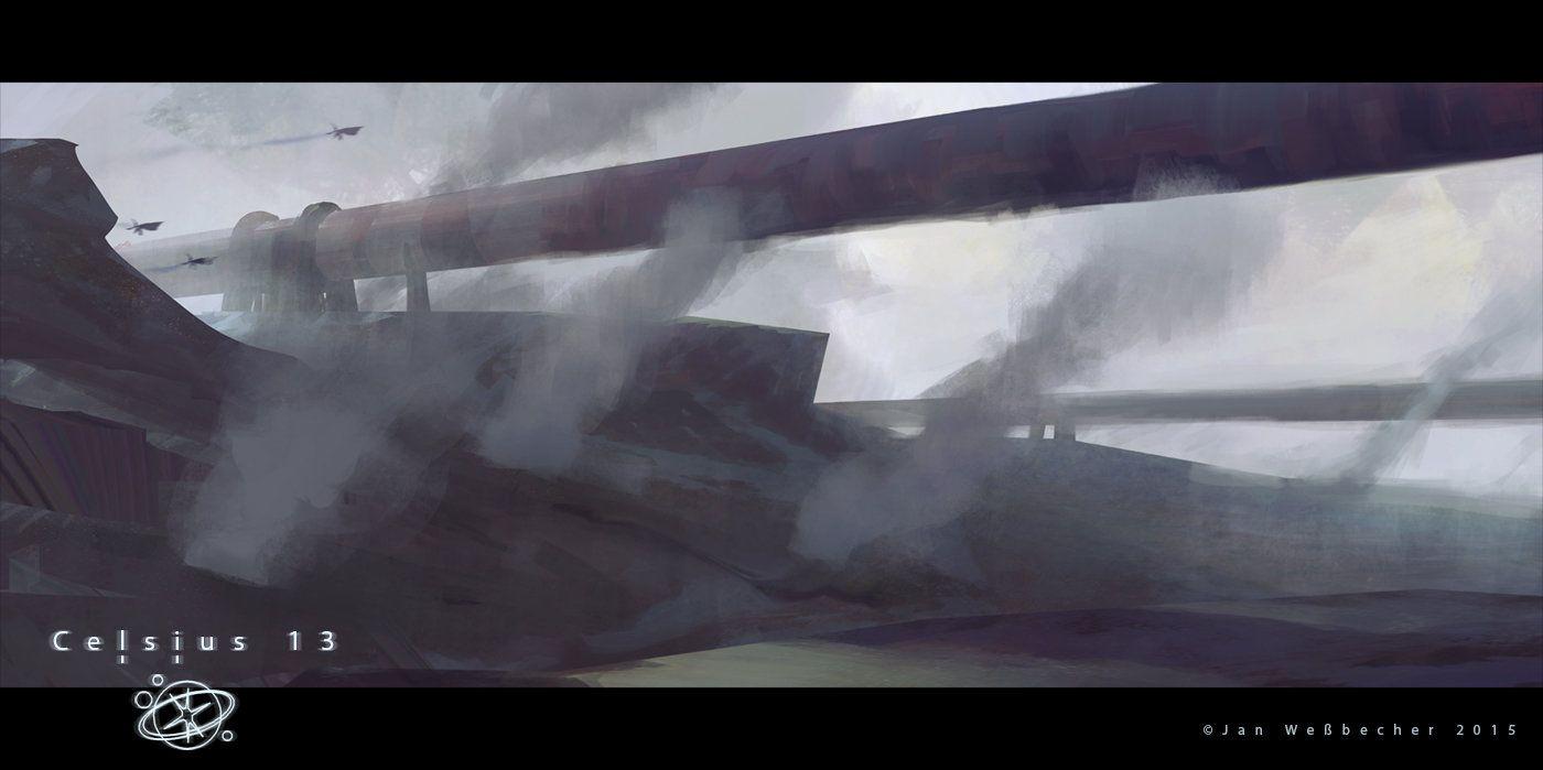ArtStation - celsius 13 - landscape speedie, Jan Weßbecher