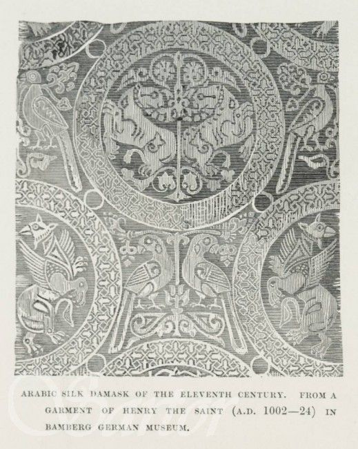 picture relating to Printable Silk Fabric named A fabric towards Henry the Saint, housed within just a museum inside Bamberg