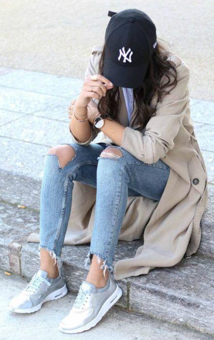 25 Ideas para usar una gorra y darle un toque rebelde a tu look ... 464e7430693