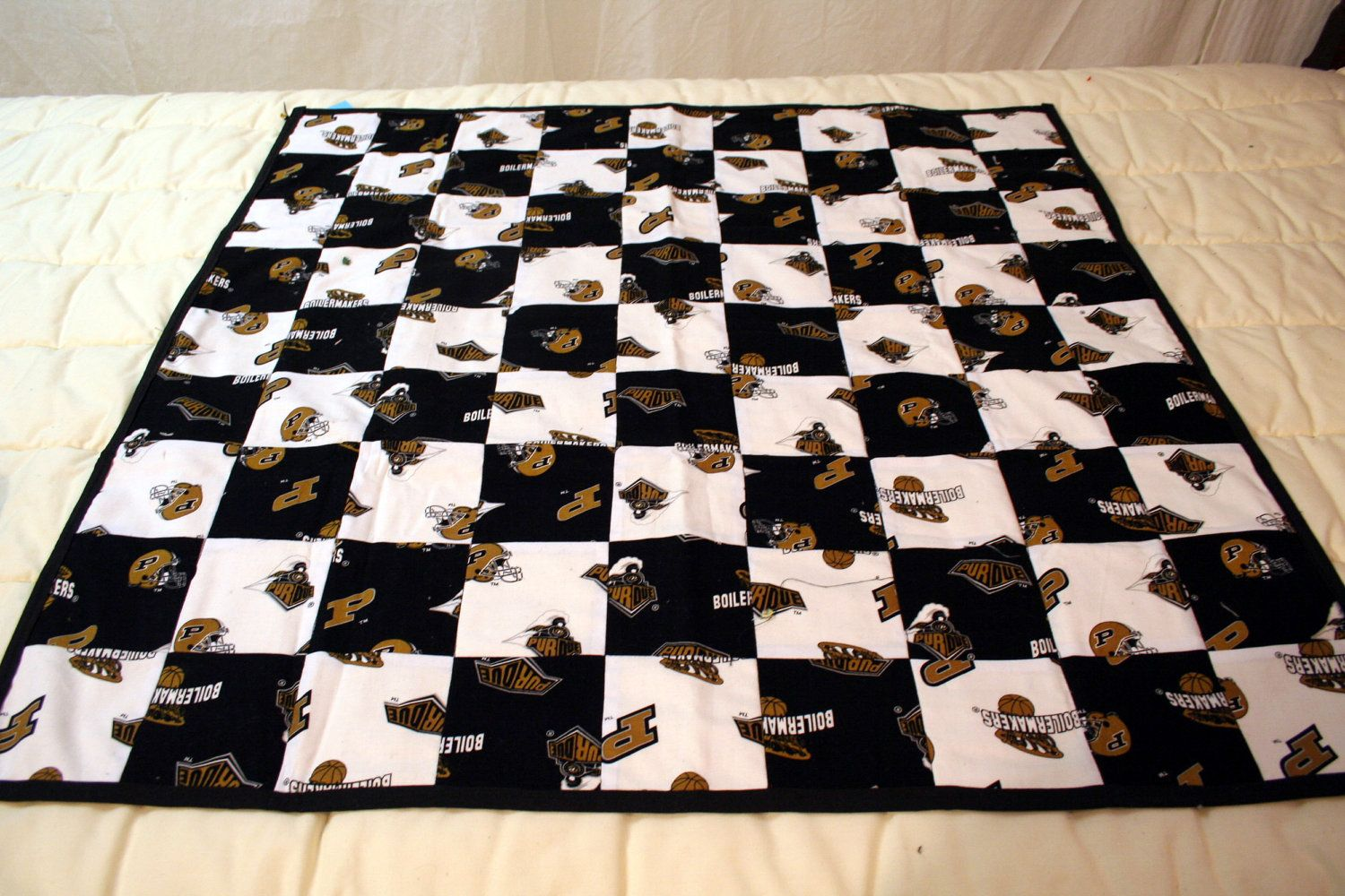Purdue University Baby Quilt Fan Crafts Purdue