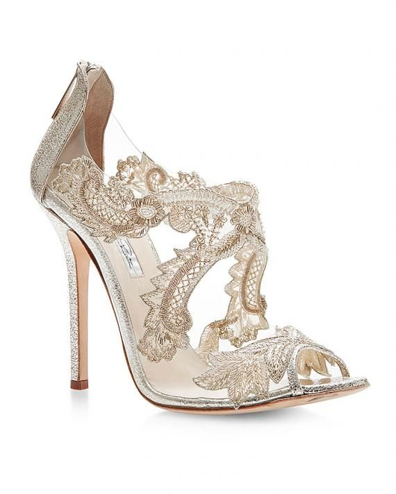 50 Best Shoes For A Bride To Wear To A Summer Wedding Lace Sandals Wedding Shoes Bridal Shoes