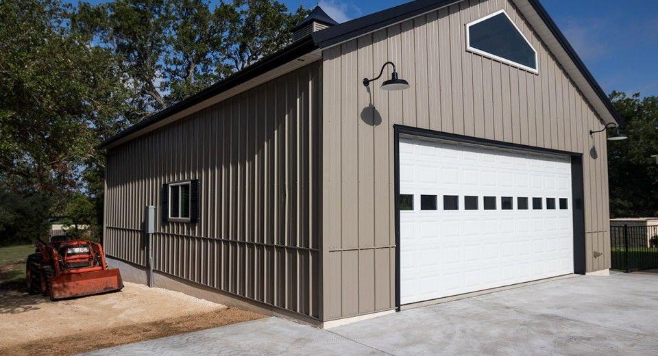 Morton Buildings Garage In Georgetown Texas Morton Building