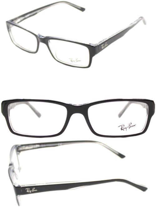 Fashion Eyewear Clear Glasses 179244: Ray Ban Eyeglasses Rx5169 2034 ...