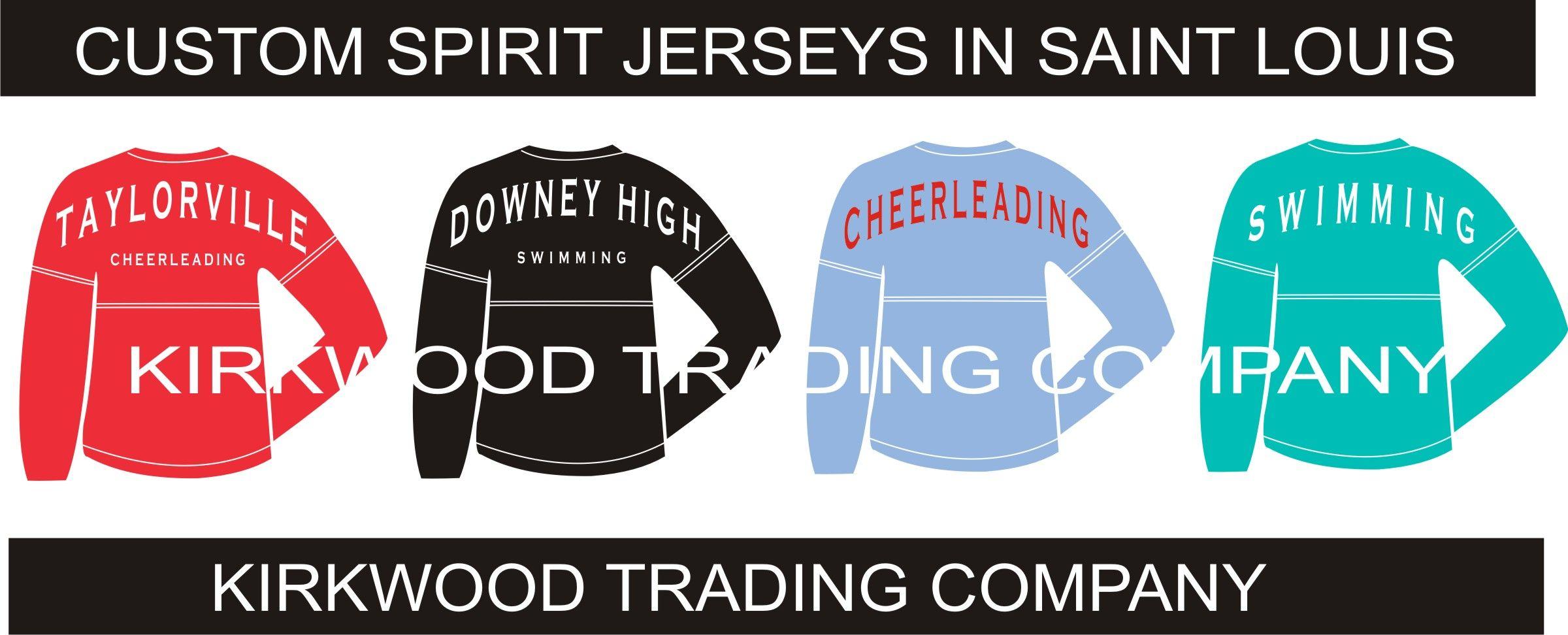 Custom Printed Spirit Jerseys In Saint Louis Custom T Shirts Fast