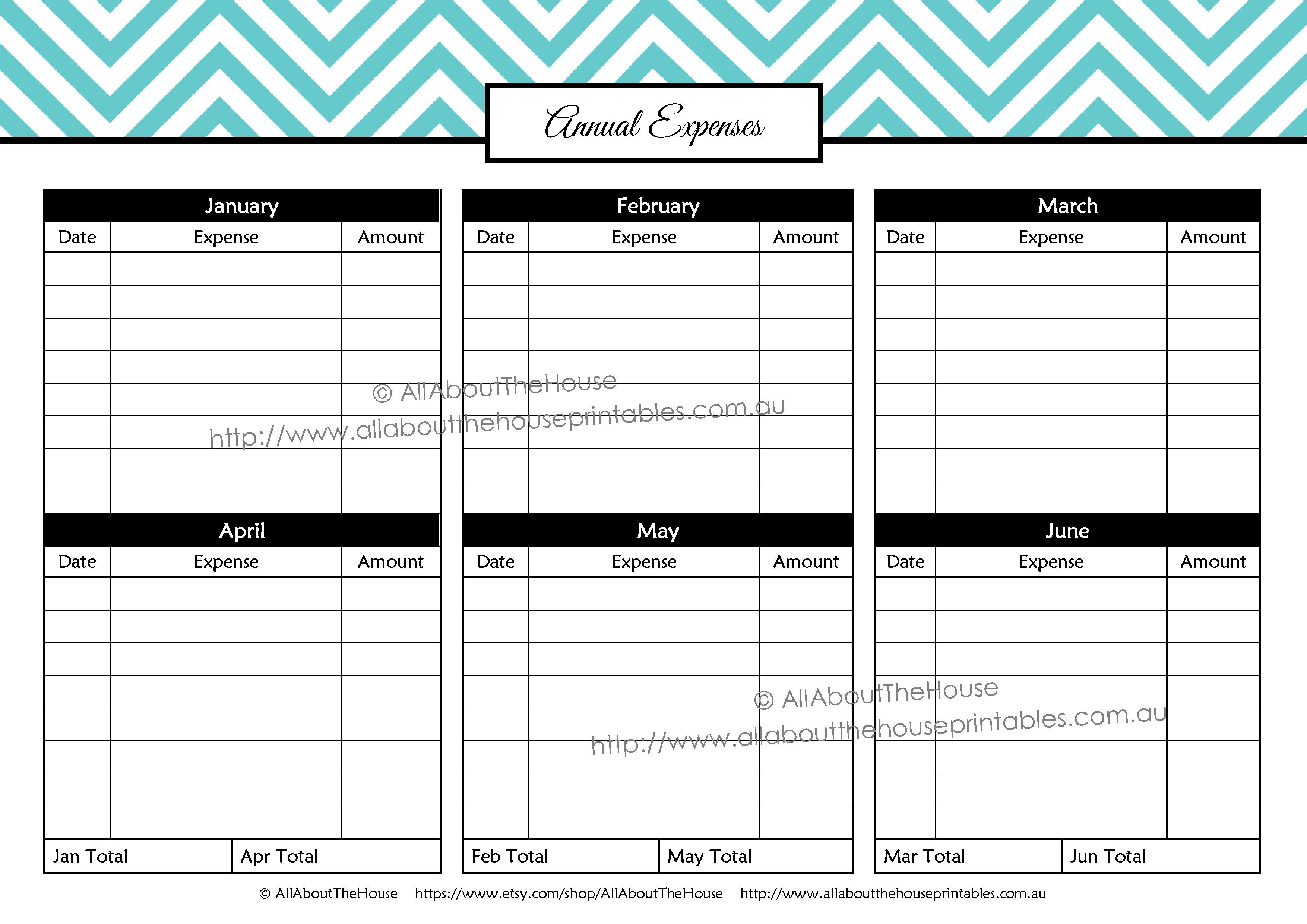 Printable Budget Planner Finance Binder Update