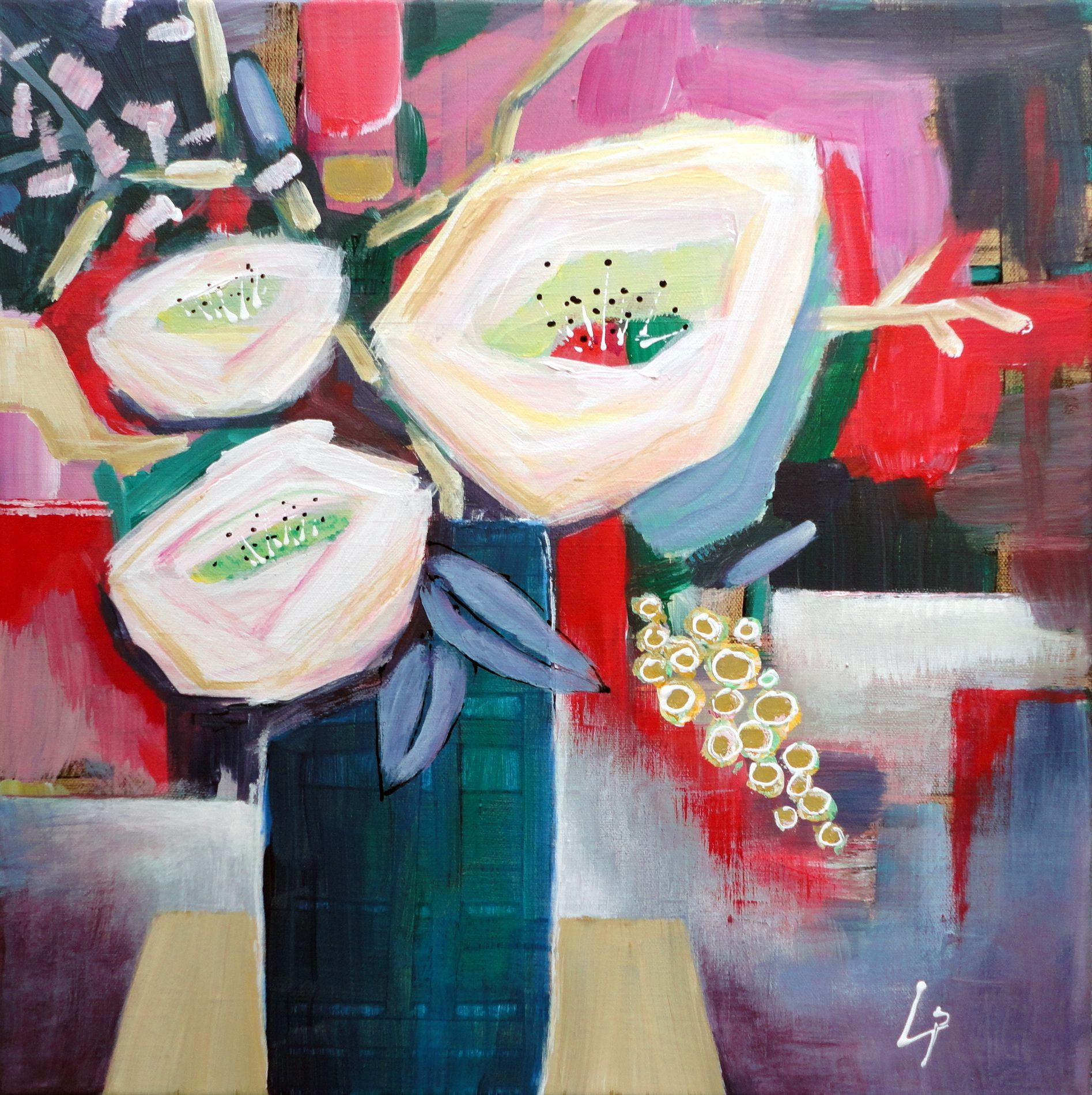 Acryl auf Leinwand 40 x 40 www.gerdalipski.com YouTube: Gerda Lipski